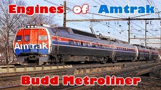 Engines of Amtrak - Budd Metroliner