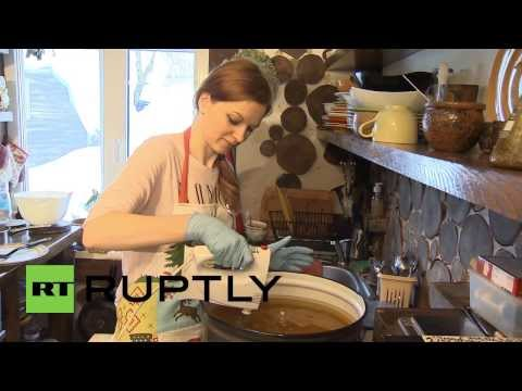 Lathering up profits with organic soap business in time for Sochi Olympics