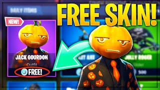 FORTNITE HOW TO GET JACK GOURDON SKIN FOR FREE!!!