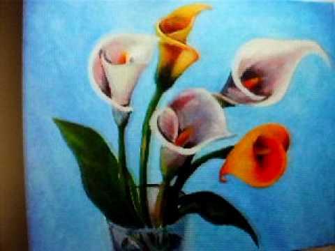 Dibujos De Flores Para Pintar Al Oleo Amazing Cmo Pintar Flores Al