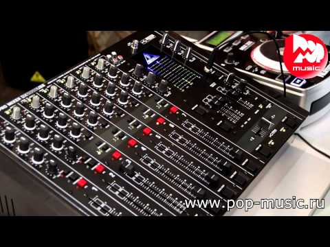 DJ пульт BEHRINGER DX2000USB review and demo