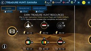 FIFA MOBILE 19 - NOWY EVENT TREASURE HUNT SAHARA ! - ROBIĘ CAŁY SKŁAD Z TYLKO DWÓCH BOOSTÓW