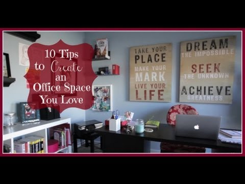 How to Organize A Home Office - 10 Tips  - Keeping Style In Your Life