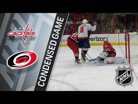 01/02/18 Condensed Game: Capitals @ Hurricanes