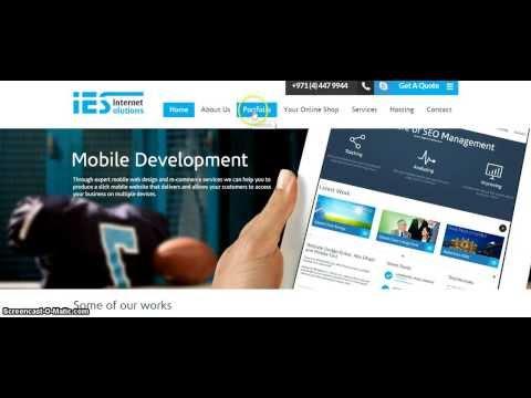 Web Design Company in Dubai - Internet E Solutions