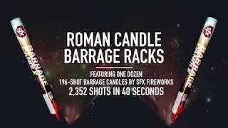 2,352-Shot Roman Candle Barrage | Superior Fireworks