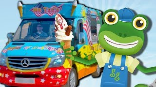 Gecko's Garage - Gecko Visits an Ice Cream Truck | Learning For Toddlers | Cartoons For Kids