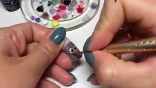 Дизайн ногтей Дотс Точки Сова Просто