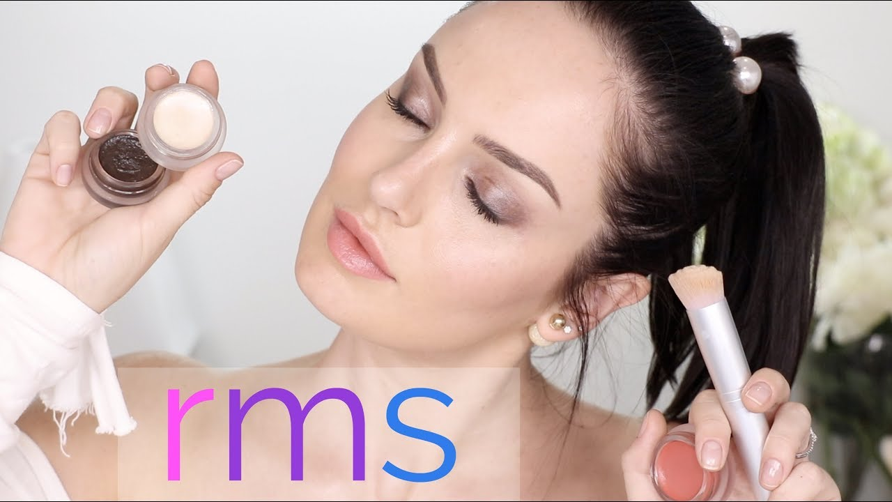 RAW & ORGANIC, Food Grade Cosmetics! RMS Full Face Demo/Review \\ Chloe Morello
