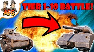 Tier 1-10 Epic Battle of DOOM! #2