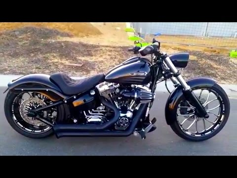 harley davidson fxsb breakout hydraulic suspension youtube. Black Bedroom Furniture Sets. Home Design Ideas