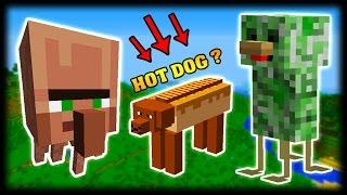 Naprosto retardovaný moby v Minecraft - Weird Things mod cz/sk