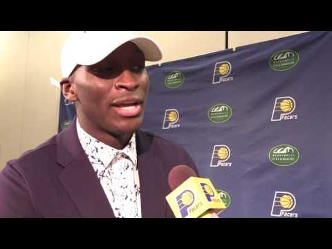 Victor Oladipo on Being Back in Indiana, Growth