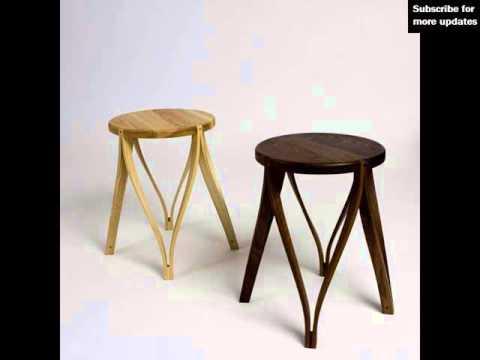 Modern Wood Stools | Modern Wooden Bar Stools Design Ideas