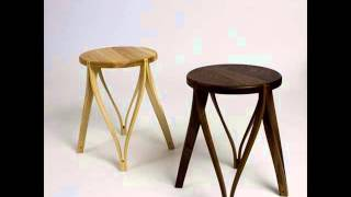 Modern Wood Stools | Modern Wooden Bar Stools Design Ideas