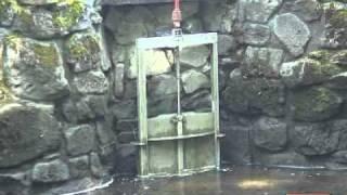Wasserspiele im Kasseler Bergpark 3: In der dunklen alten Zeche liegt der Ursprung