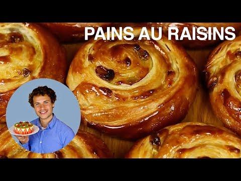 LES DÉLICIEUX PAINS AUX RAISINS