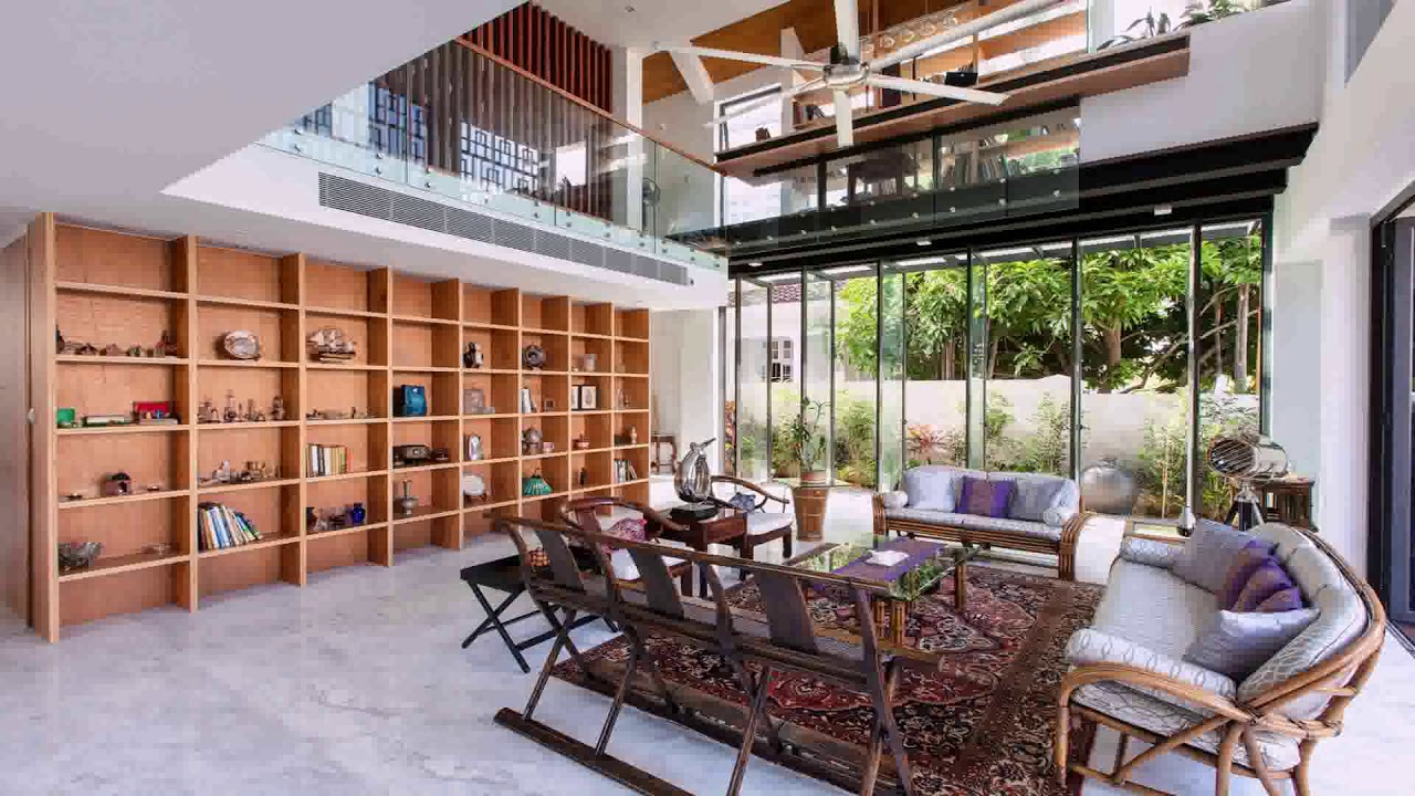 Bungalow House Design In Singapore Youtube