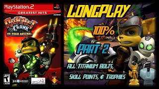 Ratchet & Clank: Up Your Arsenal - Longplay 100% (Part 2 of 3) Full Game Walkthrough (No Commentary)