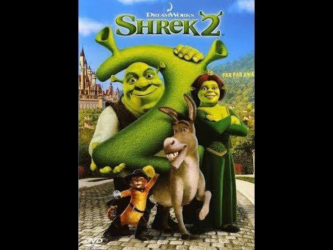 Шрек и Осёл в новом образе ... отрывок из мультфильма (Шрек 2/Shrek 2)2004