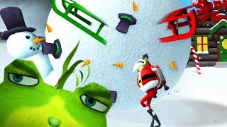 NEW CHRISTMAS UPDATE! - Amazing Frog Christmas Update - Part 163 | Pungence
