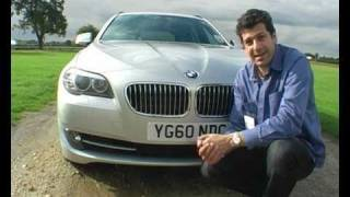 new 2010 BMW 520 touring diesel (UK) drive