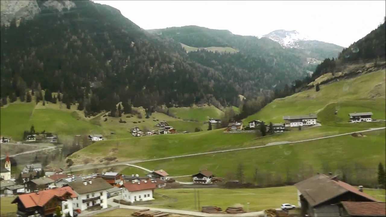 Brenner Pass Innsbruck Verona By Eurocity Train Youtube