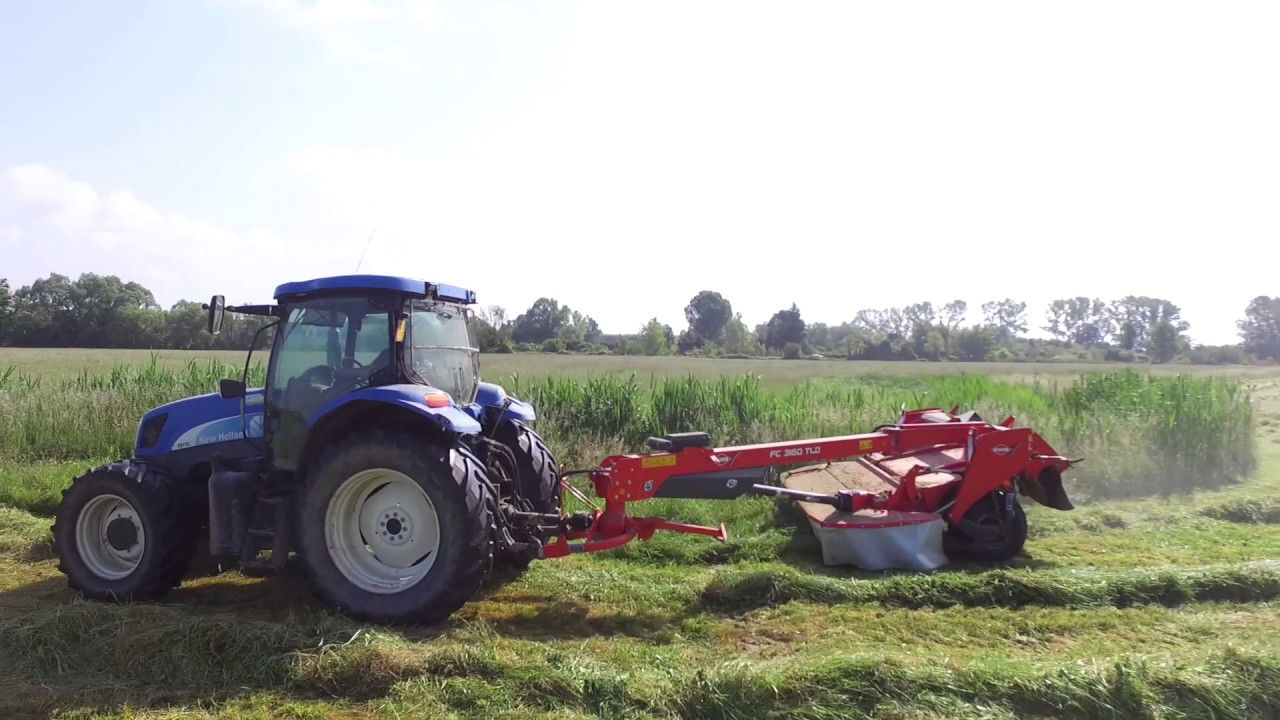 Mower Conditioner - Kuhn FC 3160 TLD + New Holland TS115