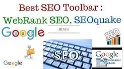 Best SEO Toolbar : SEO Toolbar for Firefox & Chrome   WebRank SEO Toolbar