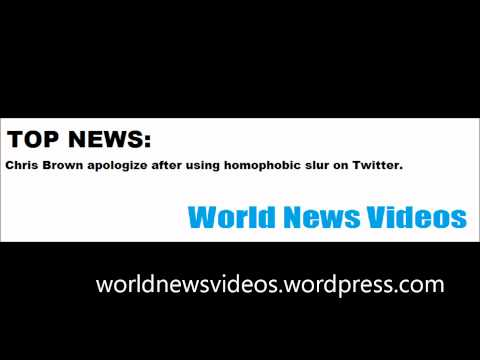 Chris Brown apologize after using homophobic slur on Twitter Mp3