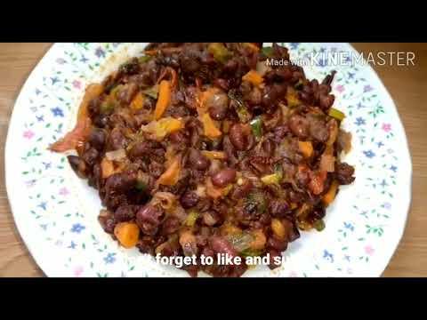 recette-avec-haricot-rouge/-recette-haricot-sauté-aux-legumes/-beans-recipe-