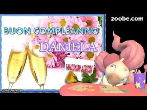 Daniela Buon Compleanno Youtube