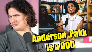 Vocal Coach Reacts to Anderson Paak's Tiny Desk (Live Performance)