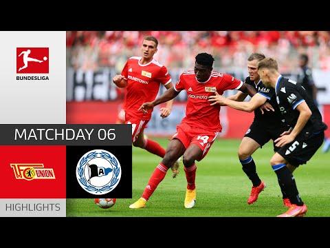 Union Berlin Arminia Bielefeld Goals And Highlights