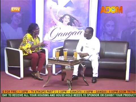 Gangaa Chat Room - Adom TV (16-8-18)