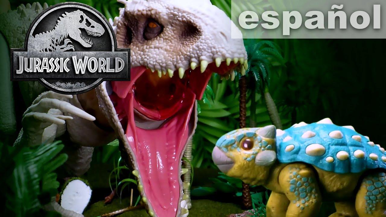 Download ¡Bumpy Sobrevive la Pelea con Indominus Rex!   JURASSIC WORLD
