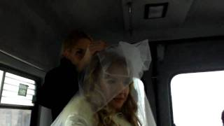 Свадьба Жень и Оли (Муськи). Укладка невесты.