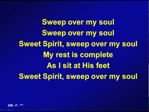020 - Sweep over my soul - A&V