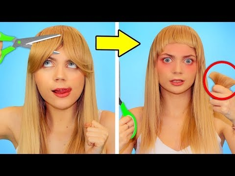 FUN HAIR HACKS AND FAILS! Girls Problems & DIY Beauty Hacks