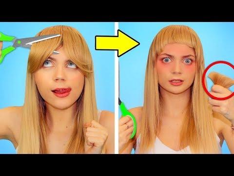 fun-hair-hacks-and-fails!-girls-problems-&-diy-beauty-hacks