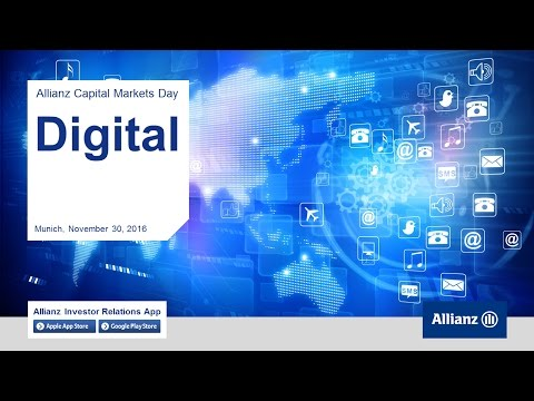 Capital Markets Day 2016, Oliver Bäte, Christof Mascher, Solmaz Altın