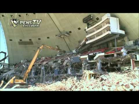 Demolition of Pittsburgh Civic Arena