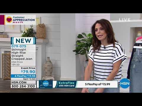 HSN | Skinnygirl Jeans By Bethenny Frankel 04.12.2019 - 11 AM