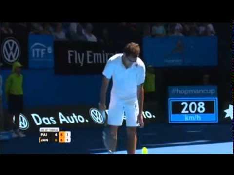 Paire/Cornet vs Janowicz/Radwanska Highlights 2015 Full Match Part-2