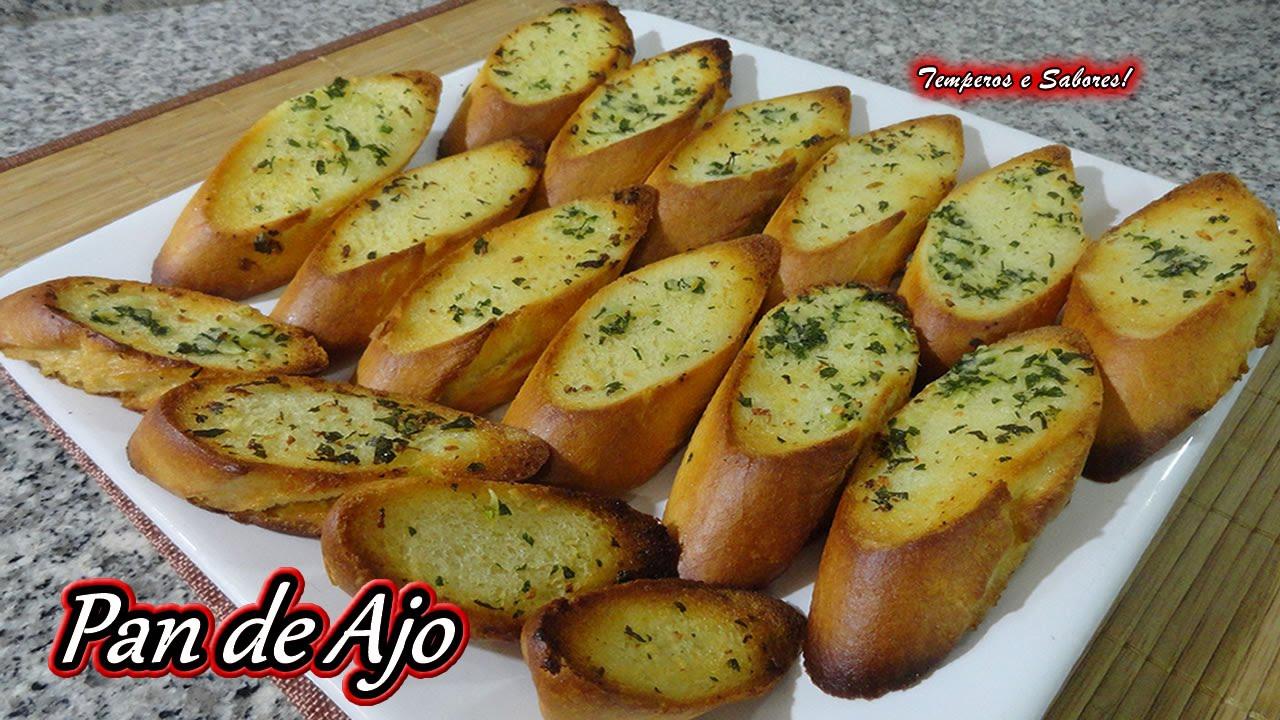 pan con ajo al horno