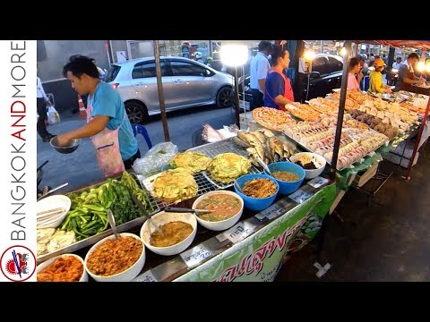 Thai Local Market In My Neighborhood  The Klongtan Market Bangkok