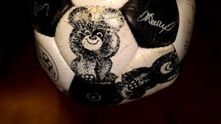 видео футбольные мячи