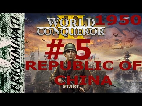 World Conqueror 3 Republic of China 1950 Conquest #5