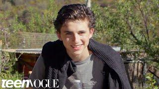 Timothée Chalamet on His Dream Roles and 'Homeland' | Teen Vogue