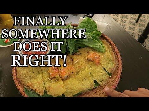 BEST BANH XEO IN HANOI - VIETNAM STREET FOOD VLOG